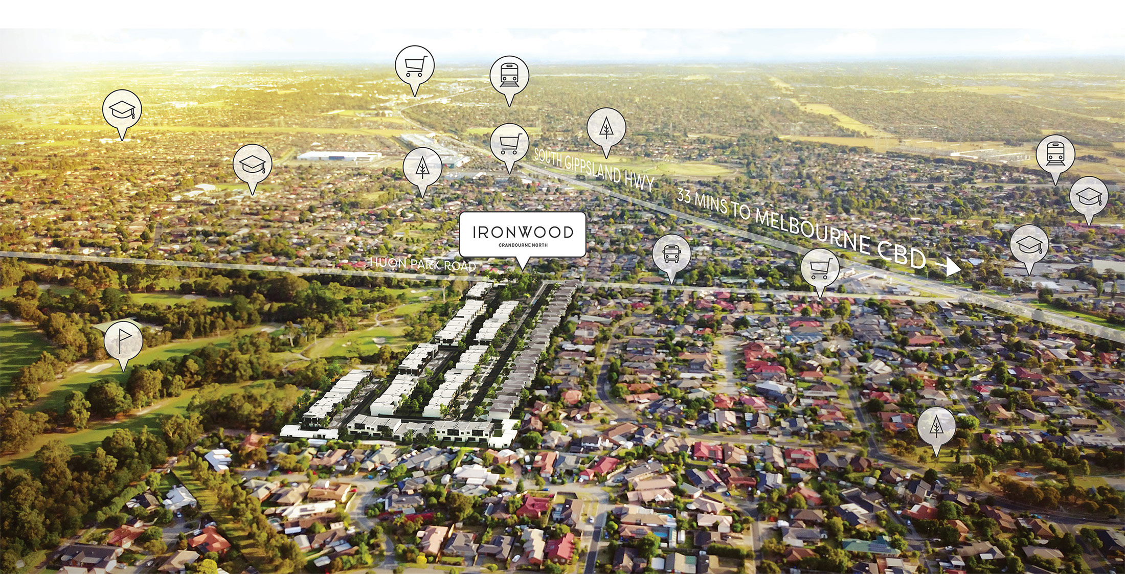 How to Reach Ironwood, Cranbourne North? – Ironwood