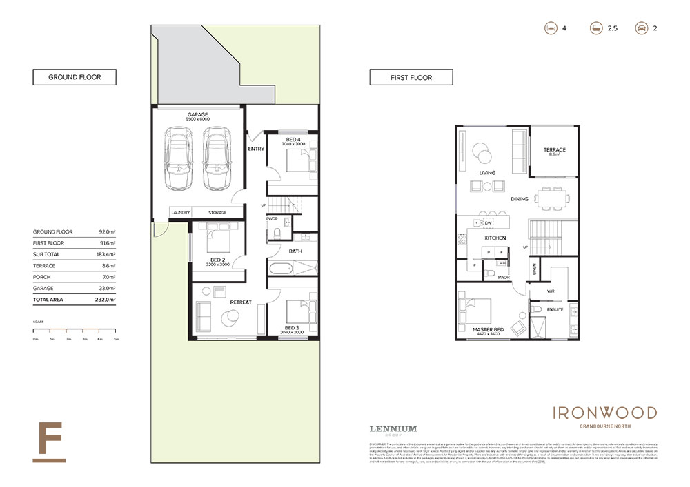 Ironwood floorplan F
