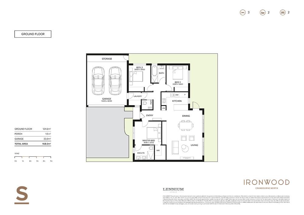 Ironwood floorplan S